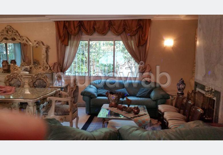 Casablanca quartier longs champs A vendre villa