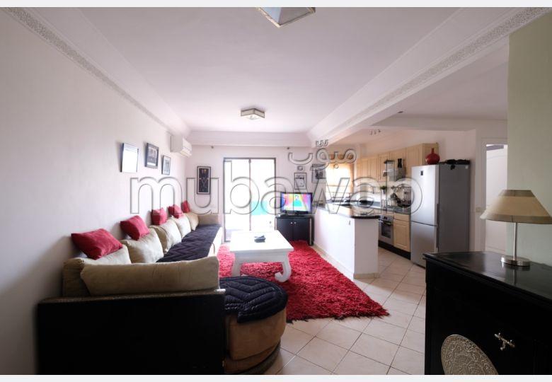 Apartment for rent in Route Casablanca. Surface area 75 m². Attic.
