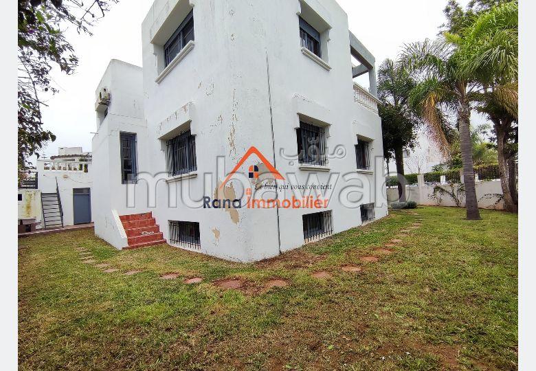 Villa usage bureau à louer sur Hay Riad