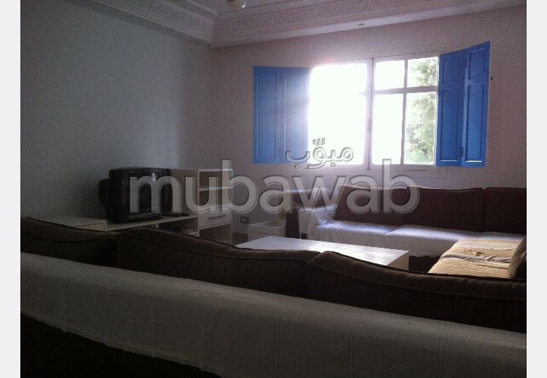 A louer un appartement meublé à sidi bousaid