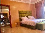 Location villa de haut standing à Route de Fez. 7 belles chambres. Meublée.