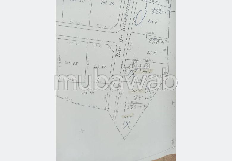 Terreno en venta en Jbel Kbir. Area 500 m².