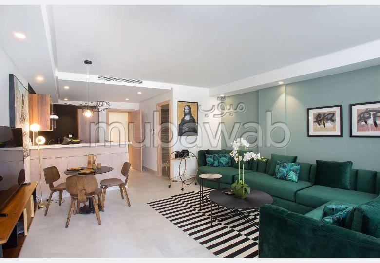شقة جميلة للبيع بالأميرات. المساحة الإجمالية 113 م².