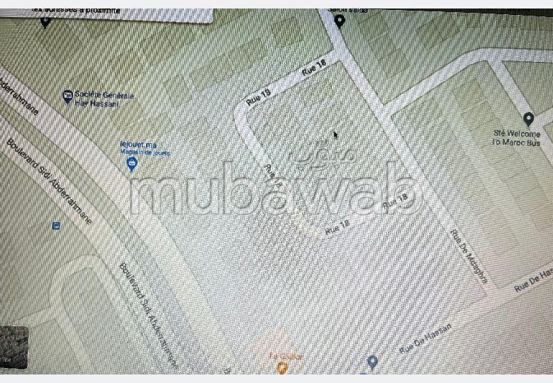 House for sale in Longchamps (Hay Al Hanâa). 3 rooms.