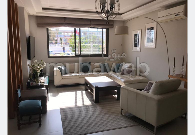 House for sale in Laymoune. 4 Studio. Furnished Moroccan living room, General satellite dish system.