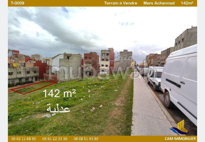 Se vende terreno en Achennad. Pequeña superficie 142 m².