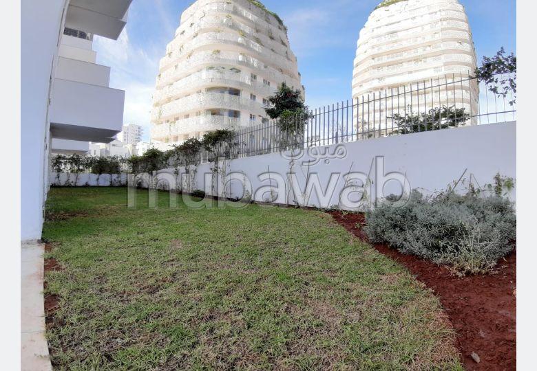 Cfc location d'un superbe duplex jardin