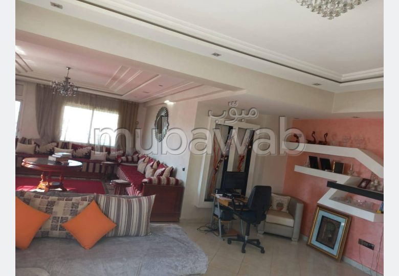 Apartment for sale in Maamora. 3 Master bedroom. With lift and terrace.