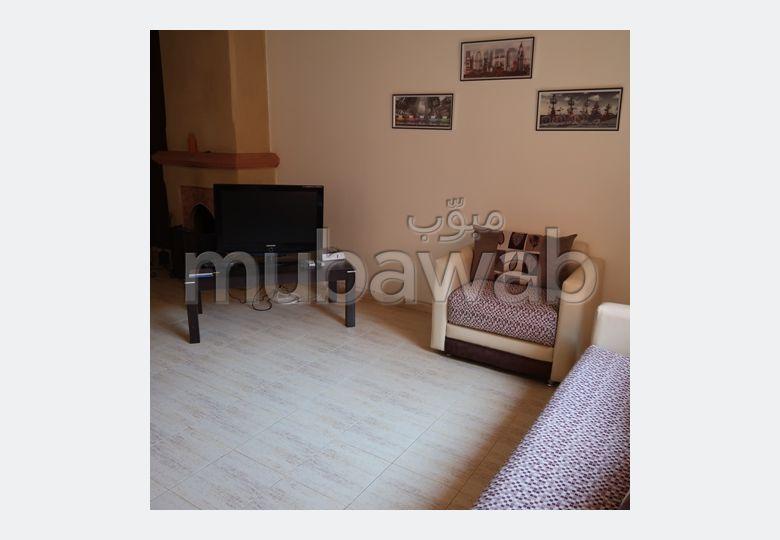 Appartement F3 loué meublé proche du jardin Harti
