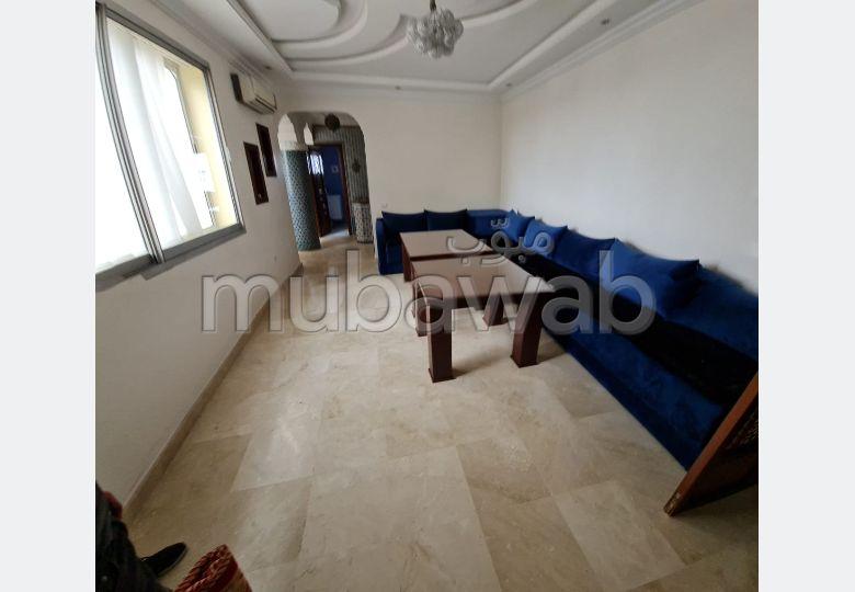 شقة جميلة للكراء بوسط المدينة. 3 غرف رائعة. مفروشة.