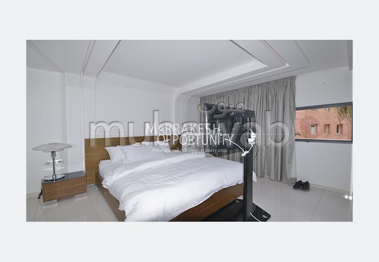 Lovely apartment for rent in Hivernage. Surface area 125 m².