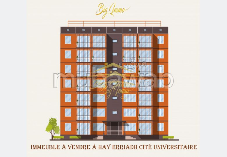 Un Immeuble R+2 a citée Riadh