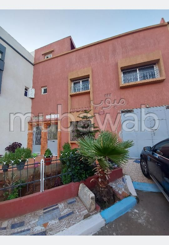 House for sale in Oulad Wjih. Large area 150 m². Traditional living room, general satellite dish.