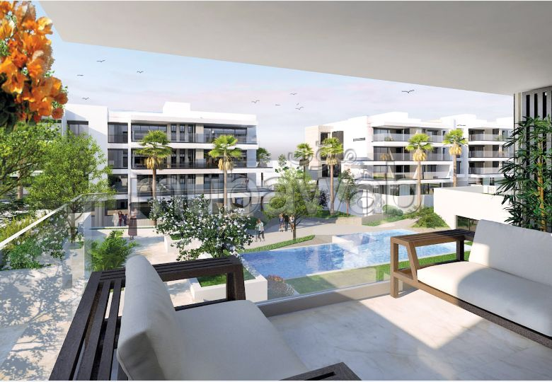Beautiful apartment for sale in Ain Chock. Area 120 m².
