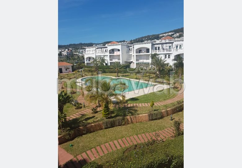 Apartment for sale in Du Golf. 3 Hall. Quiet sorroundings with mountain view, double glazed window.