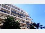SUPERBE APPARTEMENT à louer vide ou meublé avec une grande terrasse vue sur mer Avenue Hassan 2