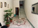 House for sale in Hay Al Bassatine. 3 Large room. Traditional Moroccan living room, Secured neighbourhood.