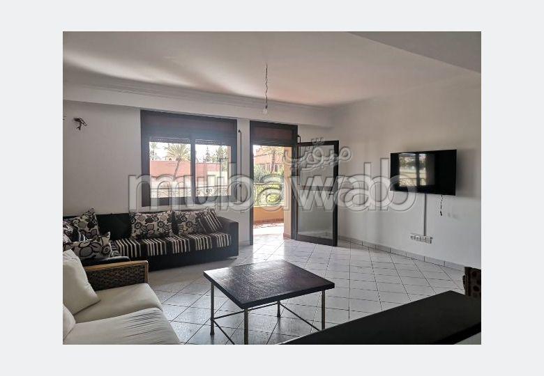 Apartment for rent in Samlalia. 3 Living room. Large terrace.