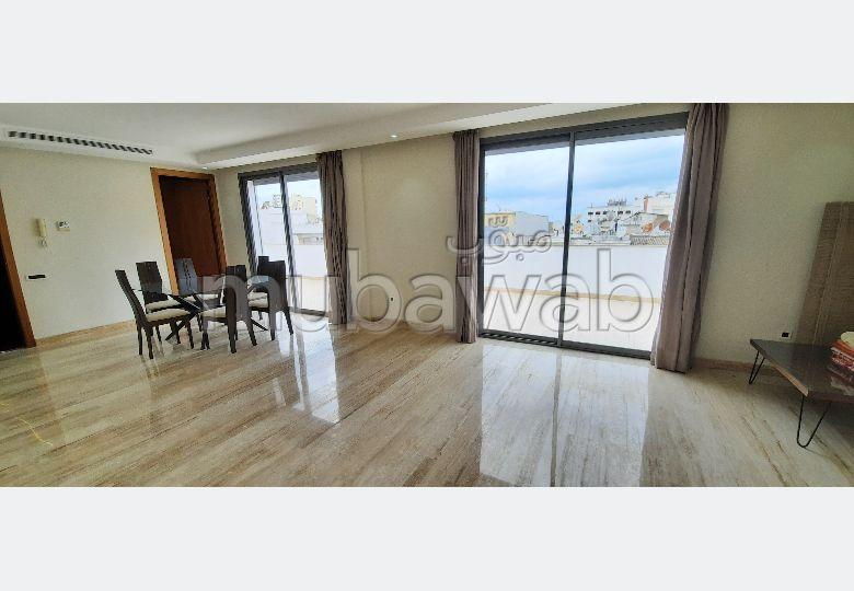 Appartement luxe à louer sur Gauthier