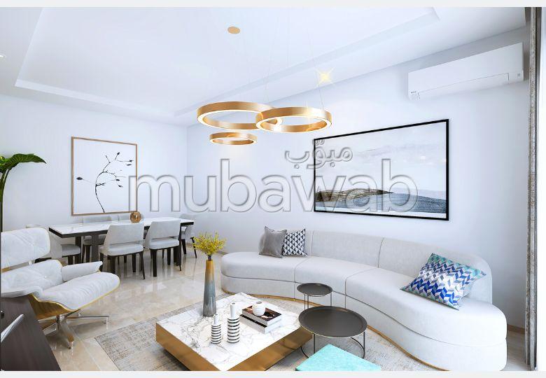 شقة رائعة للبيع ب عين زغوان الشمالية. 3 غرف ممتازة. صحن فضائي وباب متين وممتاز.