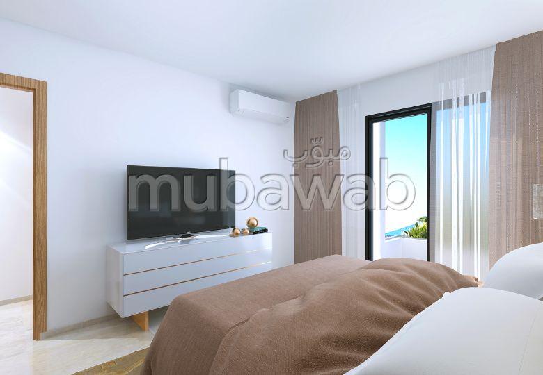شقة للشراء ب عين زغوان الشمالية. 2 غرف جميلة. باب متين،إقامة محروسة.