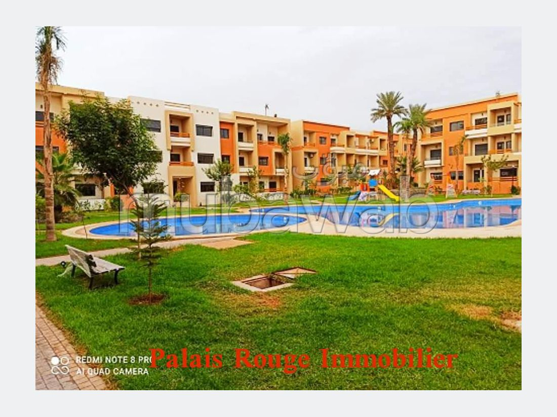 Apartment for rent in Hay Targa. Small area 70 m². Fully furnished.