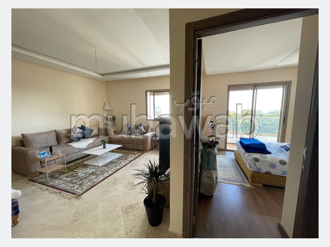 Loc appartement meuble vue mer parc mohammedia