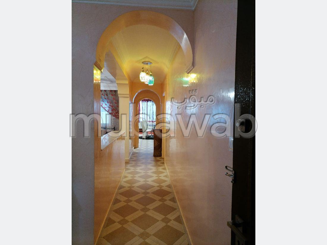 Apartment for rent in De La Plage. Total area 100 m². No Lift, Balcony.