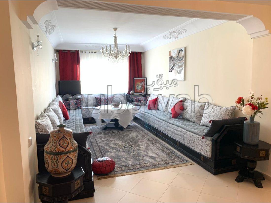 Se alquila este piso en Malabata. 3 Dormitorios. Completamente amueblado.