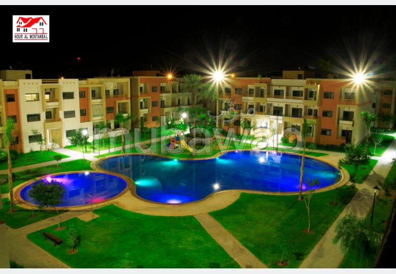 Bonito piso en alquiler en Route d'Agadir - Essaouira. Superficie 123 m²;. propiedad con piscina, aire condicionado integrado.
