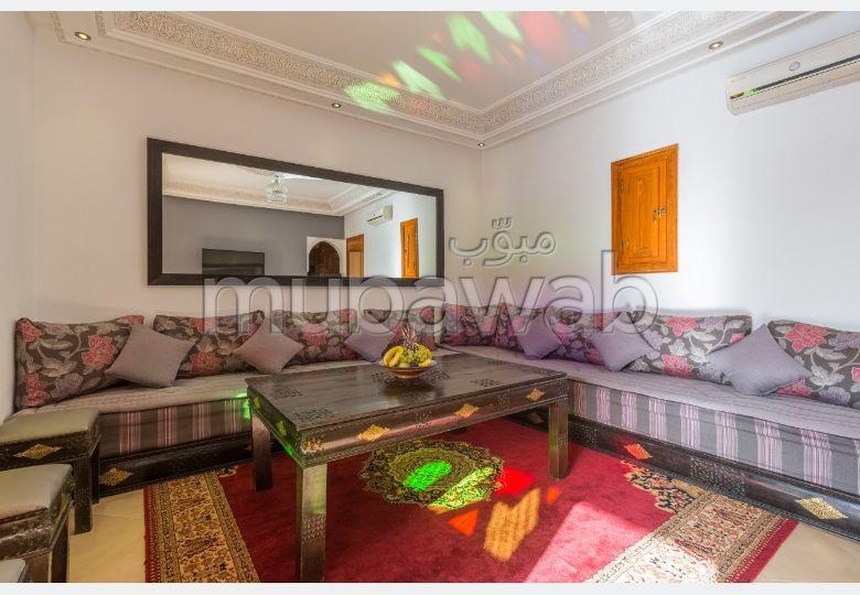 Appartements à louer à Marrakech. 3 pièces confortables. Bien meublé