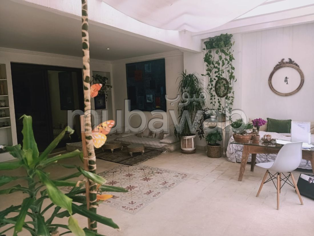 Vente d'un bel appartement à Guéliz. Surface de 115 m²
