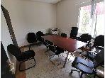 Beaux bureaux à louer à Rabat. Superficie 200 m²