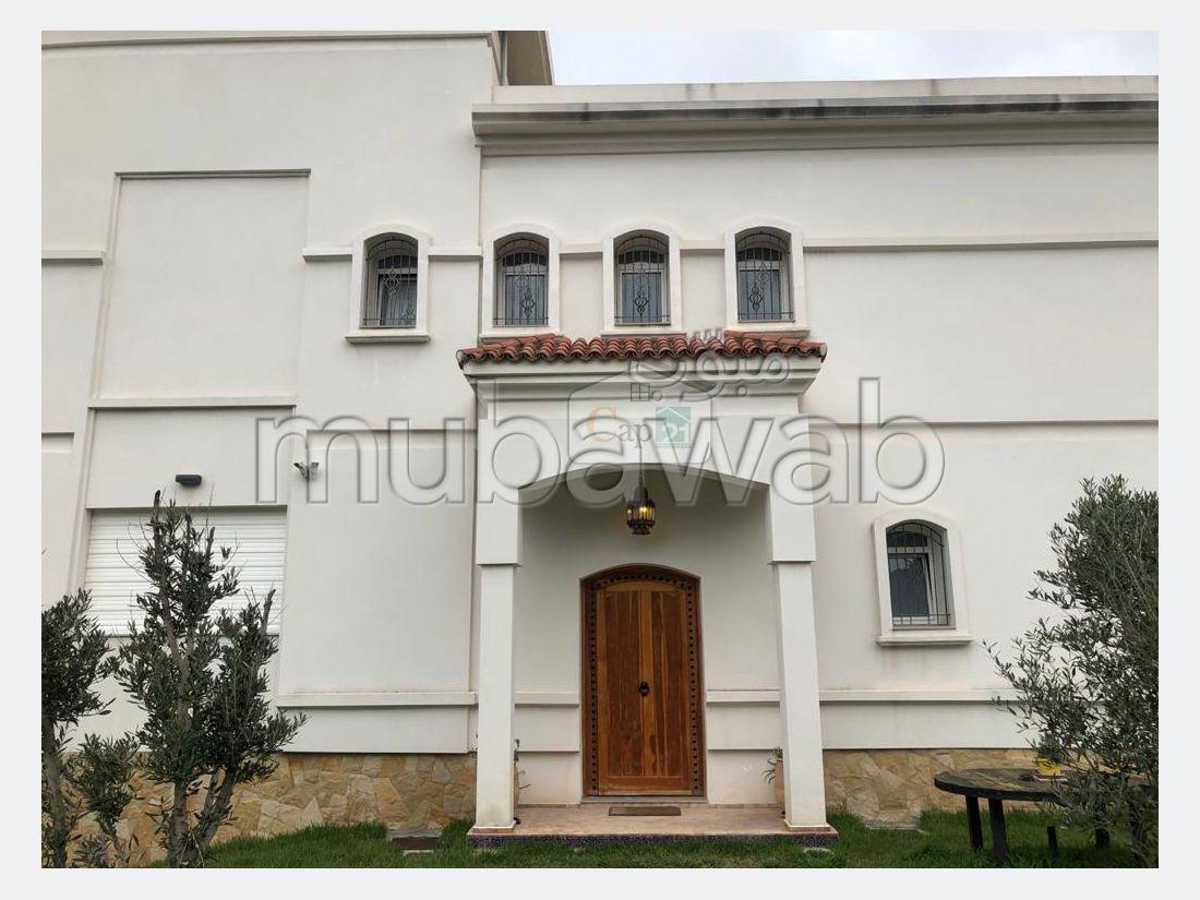 Villa moderne avec vue magnifique