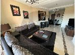 Find an apartment for rent in Route Casablanca. Large area 91 m². Furnishings.