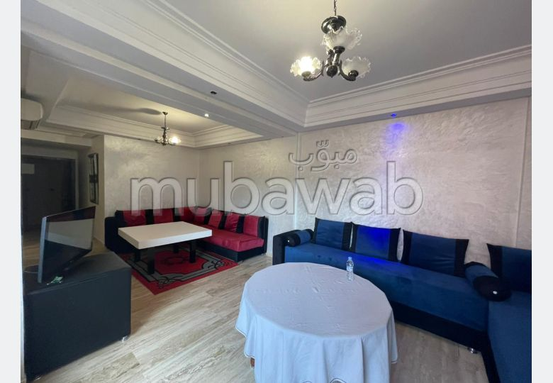 Very nice apartment for rent in Route de Safi. Small area 81 m². With lift and green area.