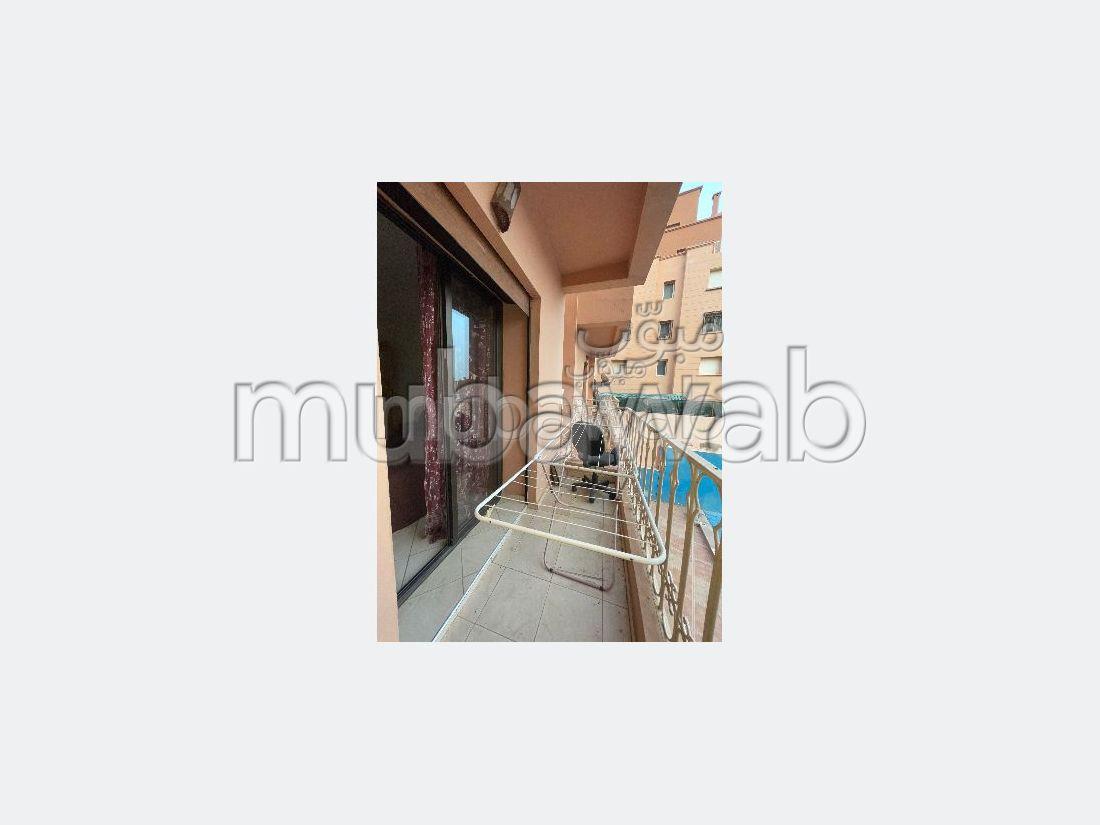 Super appartement avec piscine pour une longue durée à marrakech