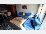 Great apartment for rent in Ferme Bretonne (Hay Arraha). 1 room. Well decorated.