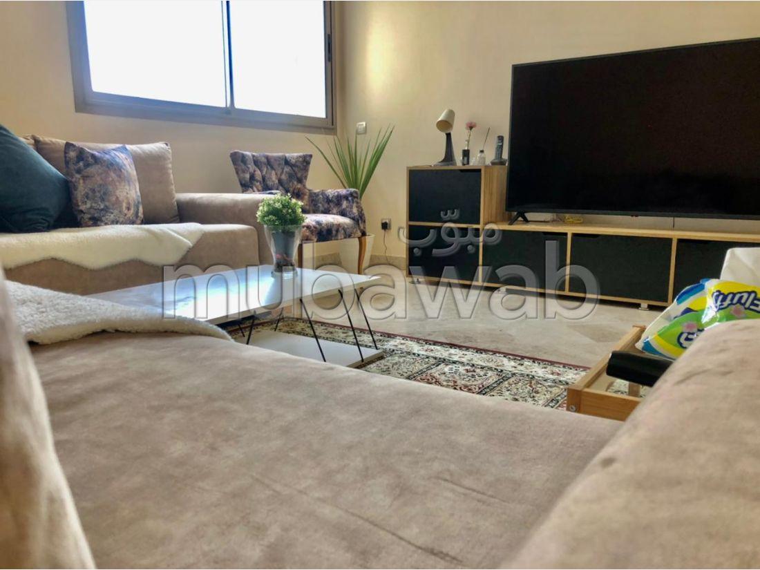 Find an apartment for rent in Quartier du Parc. 2 Large room. Cellar.
