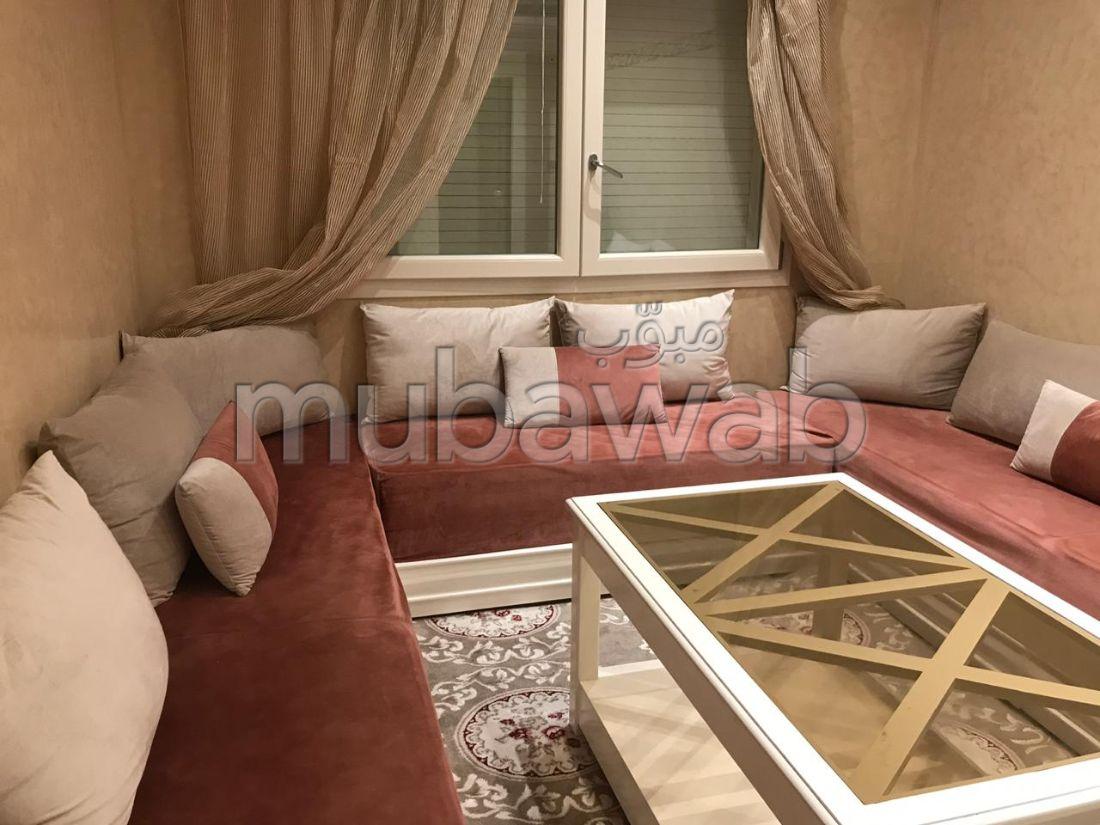 Appartements à louer à Sidi Moussa. Surface totale 66 m². Meublé.
