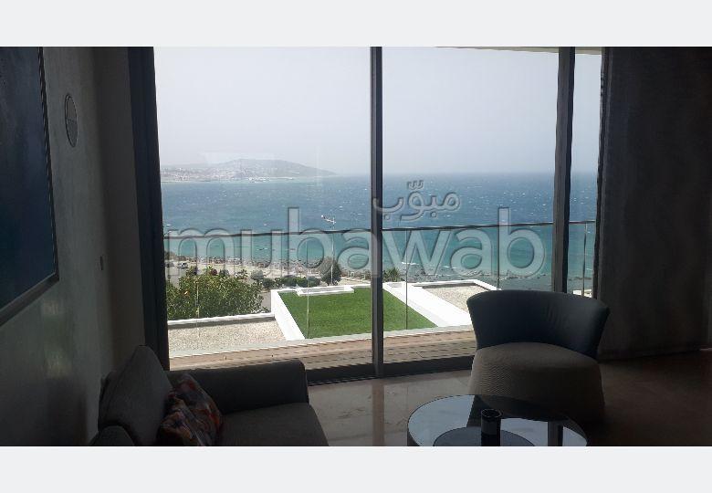 Location d'un appartement à Tanger. Superficie 150 m². Meublé