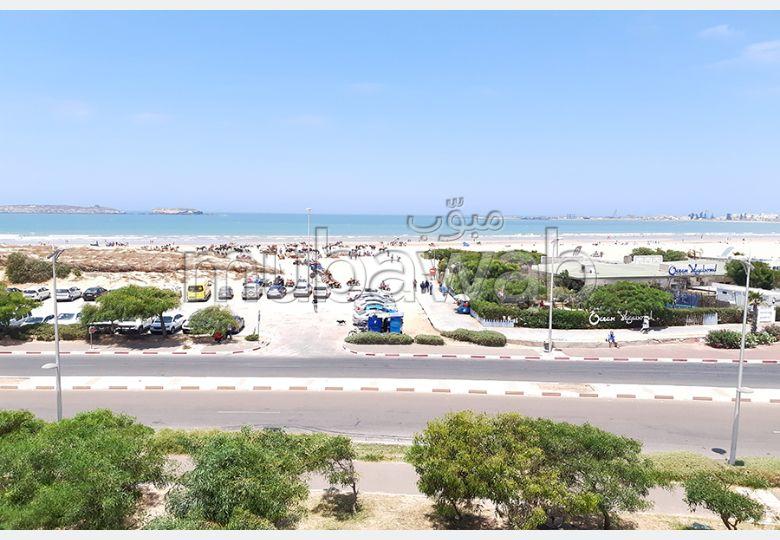 Appartement standing vue sur mer