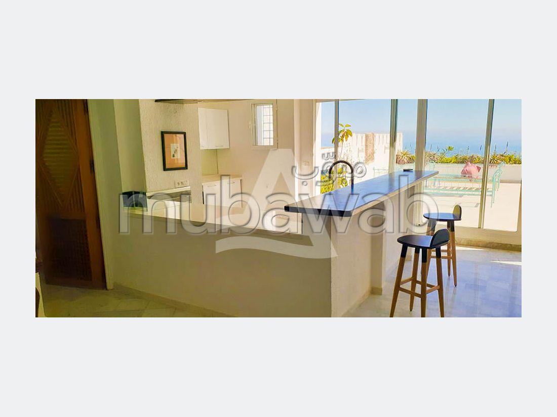 شقة رائعة للايجار ب سيدي بو سعيد. المساحة الإجمالية 170 م². مفروشة.