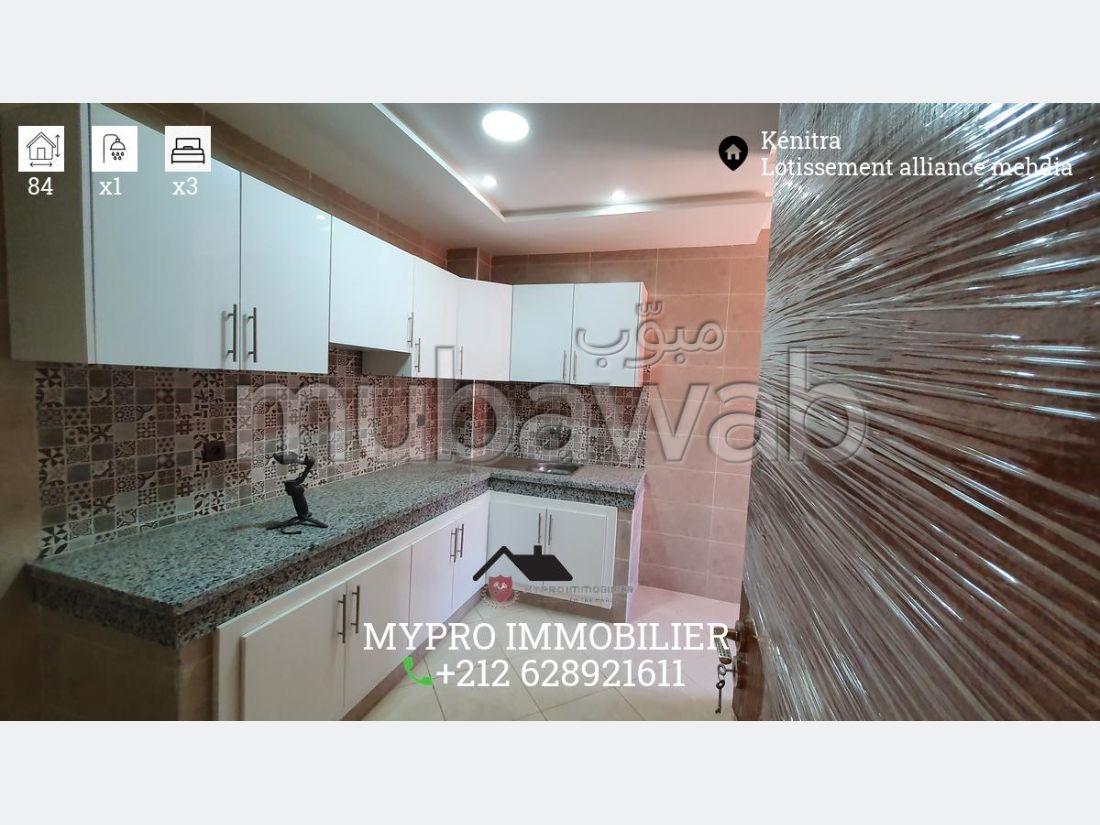 Appartements 84m² 3 chambres avec Ascenseur