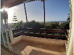 Ain diab location appartement balcon vue sur mer