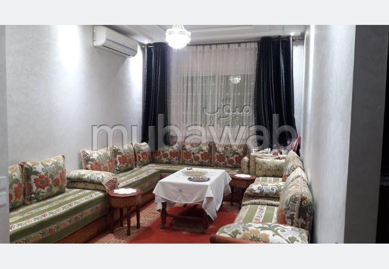 Bel appartement à vendre à hay charaf Marrakech. 2 chambres. Porte blindée, sécurité