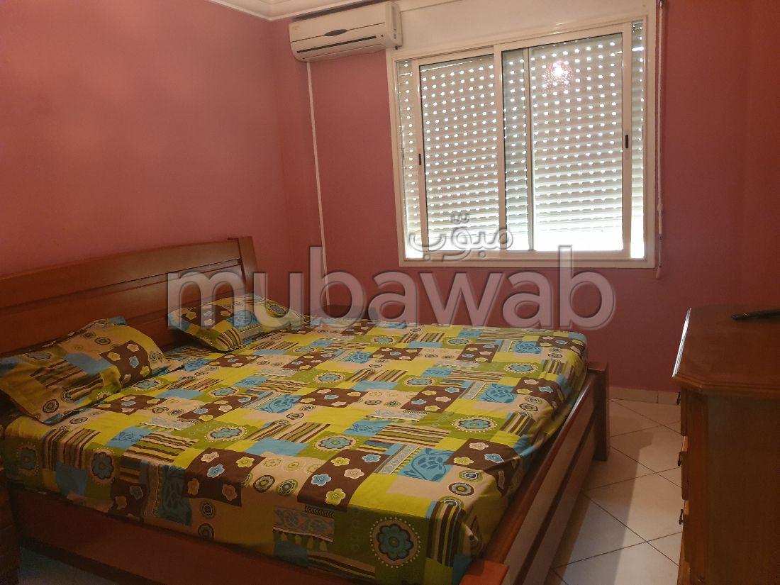 Louez cet appartement à Agadir. 2 belles chambres. Meublé
