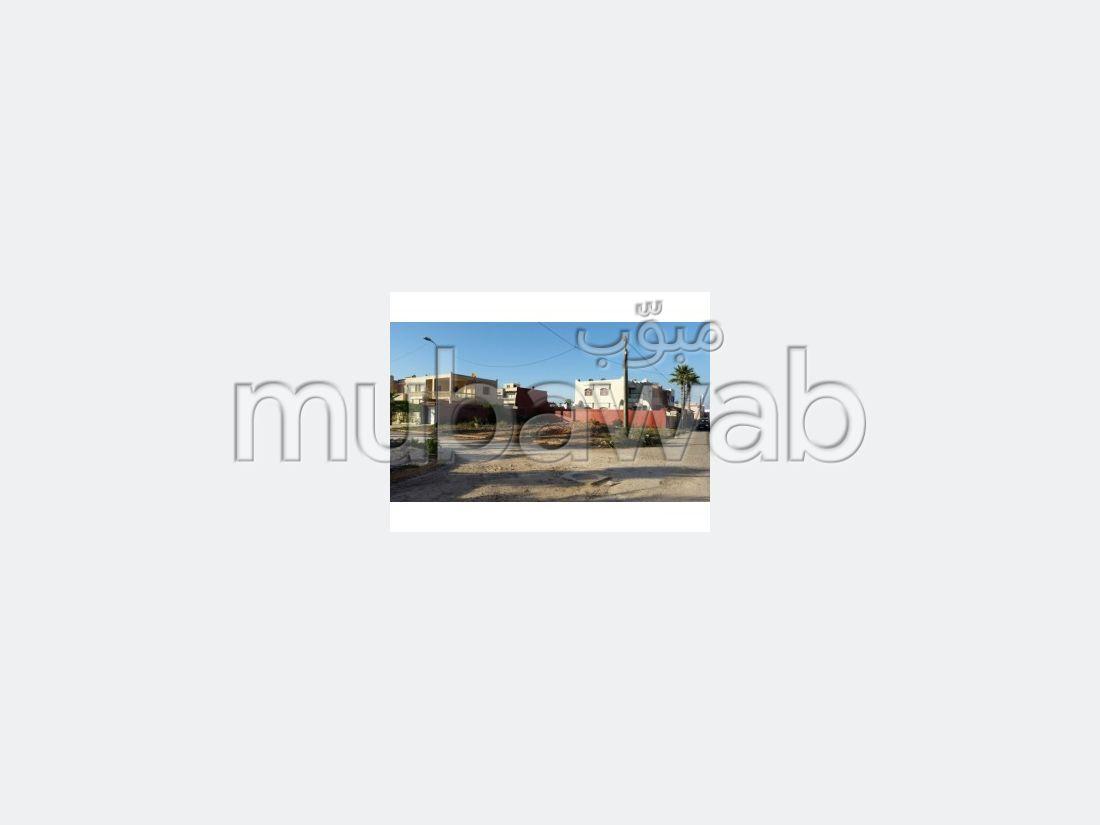Terrain de 530m2 deux façades sur Hay Riad