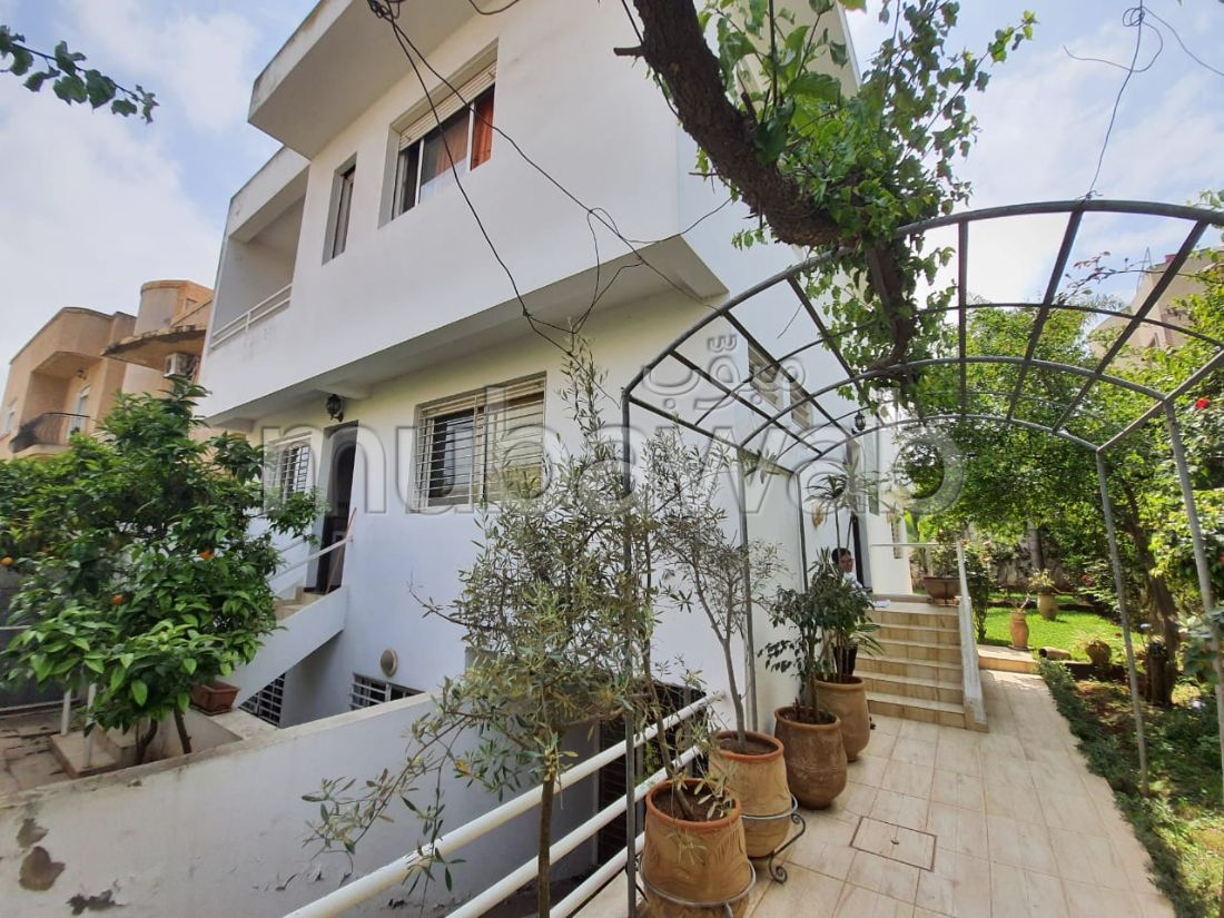Hay nassim2 sidi maarouf vente villa terrasse jard