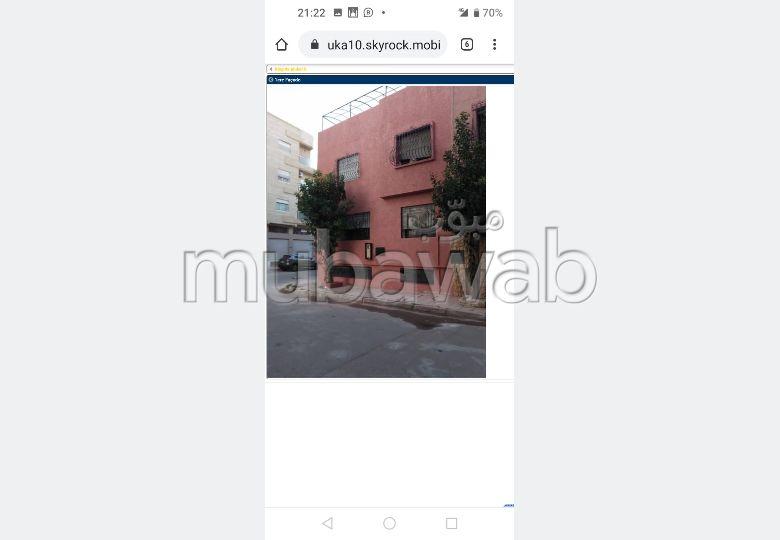 Encuentra una casa en alquiler en Sidi Maarouf. 5 Suite parental. Terraza grande.